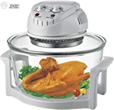 Freidora de aire, horno de convección infrarroja, encimera de horno halógeno, cocina sana, acero inoxidable, preparar comidas rápidas y saludables, ideal para papas fritas y chips