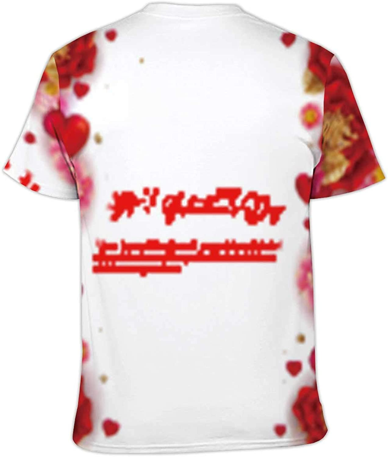 S Hitecera Abstract Pattern Made from tie dye Fabric,Couple Cool Short Sleeve Crew Neck T-Shirt Endless for Wallpaper