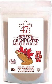 47 North Canadian Organic Maple Sugar,Single Source, 250g