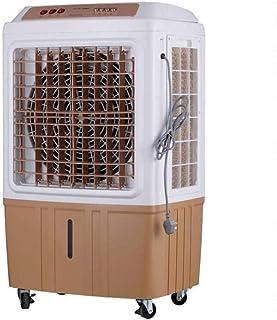 Industria del aire del ventilador enfriador de agua de refrigeración móvil de Protección Ambiental de Aire acondicionado Enfriamiento evaporativo Radiador 150W450W Cooler (Color: Champagnemechanical),