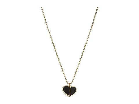Kate Spade New York Heritage Spade Enamel Heart Mini Pendant