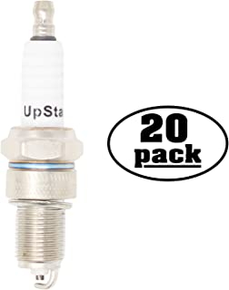 UpStart Components 20-Pack Replacement Spark Plug for Subaru Robin Engine Power Equipment EH65 EH65V V-Twin 4-Cycle OHV 22.0 h.p. - Compatible with Champion RN12YC & NGK BPR5ES Spark Plugs