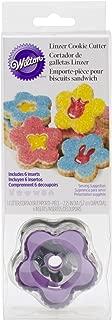 Wilton 2308-0345 Linzer Cookie Cutters, Set of 6
