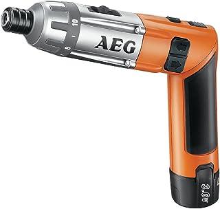 AEG SE 3.6 Negro, Naranja 600 RPM - Destornillador (3,6 V, Ión de litio, 0,5 h, 280 mm, 580 g, 600 RPM)