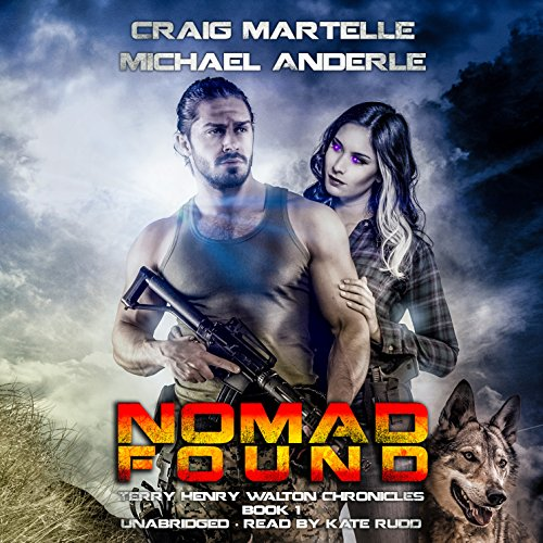 Nomad Found audiobook cover art