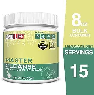 LonoLife Master Cleanse (Lemonade Diet), 8oz Bulk Container