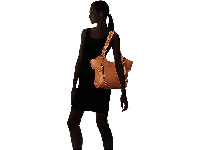 The Sak Sierra Leher Shopper Tobacco Handbags