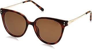 Polaroid Women's PLD 4047/S IG Sunglasses, Havana Gold, 54