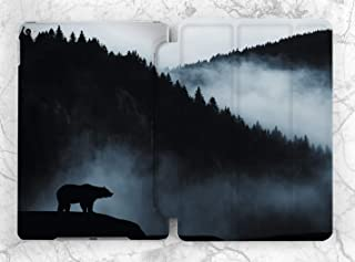 Dark Mist Forest Bear Case For Apple iPad Mini 1 2 3 4 5 iPad Air 2 3 iPad Pro 9.7 10.5 11 12.9 inch iPad 9.7 inch 2017 2018 2019
