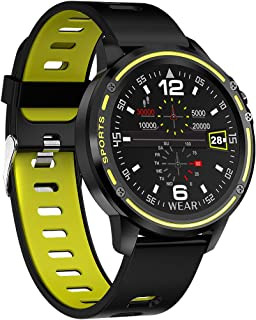 Leotec Smartwatch MultiSports ECG Lime Green: Amazon.es: Relojes