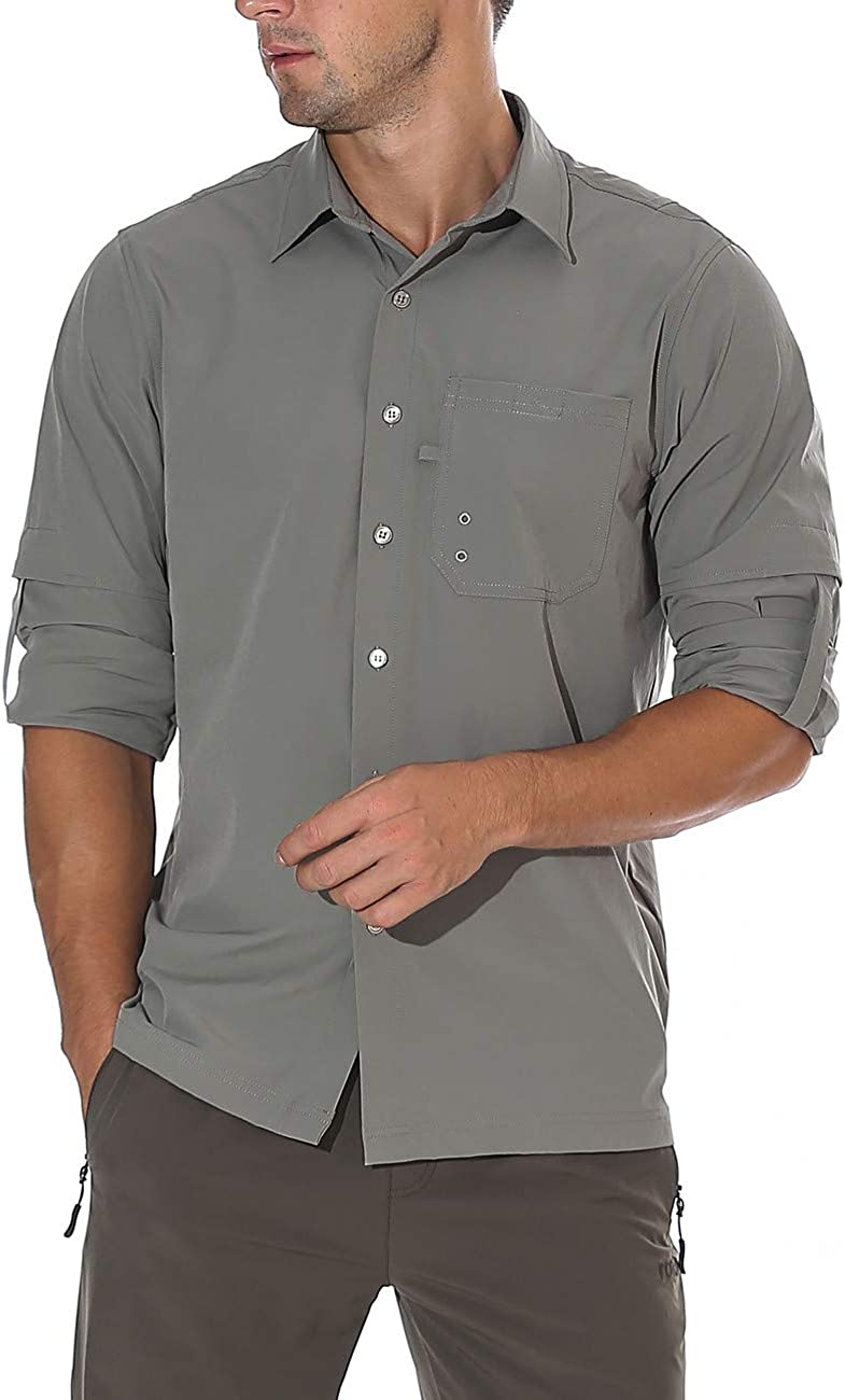Ranking lowest price TOP11 unitop Men's Hiking Shirt Sleeve Roll-Up Long Fishing