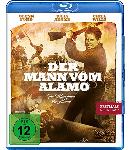 Der Mann vom Alamo - Uncut [Blu-ray] [Alemania]