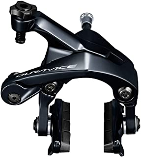 Shimano Cycling Caliper Brake, BR-R9100, Dura-Ace Front CS-49 10.5mm Sunken Nut, Additional Sunken Nut:12.5/18/27/32mm X1Shoe:R55C4,Single Dura-Ace Front CS-49 10.5mm - IBRR9100AF82X