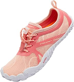 STEELEMENT. Women Barefoot Running Shoes Minimalist/Zero Drop/Wide Toe Box Jogging Walking Shoes