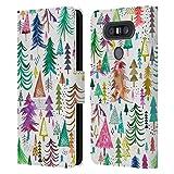 Head Case Designs sous Licence Officielle Ninola Pins colorés Modèles 4 Coque en Cuir à...