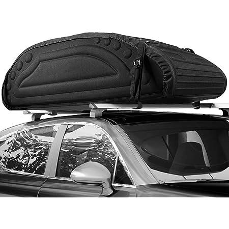 Amazon Basics Dachgepäckträger Tasche Schwarz 425 L Auto