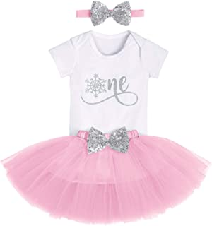 Cake Smash Wild One First Birthday Clothes for Baby Girls Polka Dots Romper Tulle Dress Mouse Ear Princess Outfits
