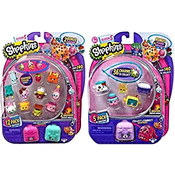 Shopkins Season 5 (1) 12 Pack and (1) 5 Pack | Shopkin.Toys - Image 1