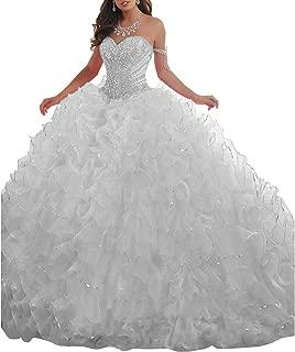 Best quinceanera dresses silver Reviews