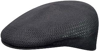 قبعة Kangol Tropic Ventair 504 للرجال، أسود/ذهبي، مقاس صغير