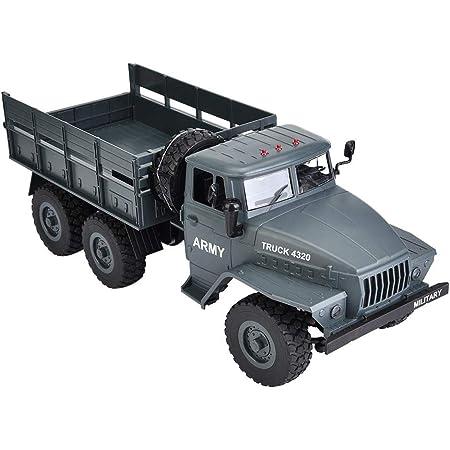 ATATMOUNT RC Truck 1 12 Simulation Full-Size-6-Rad-Antrieb Sowjetisches Ural-Truck-Modell Offroad-Fernbedienungsauto