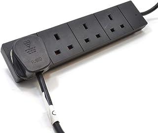 pro elec 4g10mbk 10 m On Light Extension Lead - Black