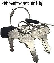 6 Keys Ignition Key Set Construction Equipment Key Set for Kubota Models