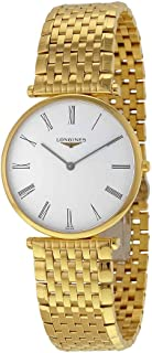 Longines La Grande Classique Quartz White Dial Gold-tone Case Mens Watch L4.755.2.11.8
