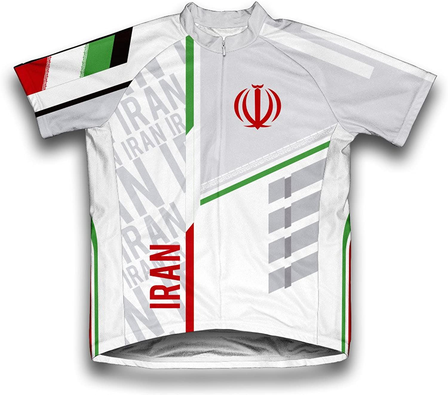 Iran ScudoPro Short Sleeve Cycling Jersey for Men