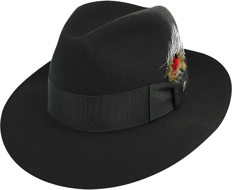 Stetson Men's Pinnacle Excellent Quality Fur Felt Hat