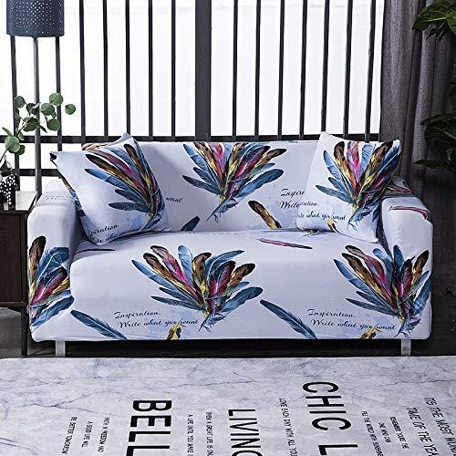WXQY Sala de Estar geométrica Todo Incluido Funda de sofá Moderna sección elástica Funda de sofá de Esquina Funda de sofá A5 3 plazas