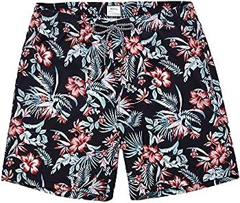 Biwisy Mens Trunks Quick Dry Swim Shorts