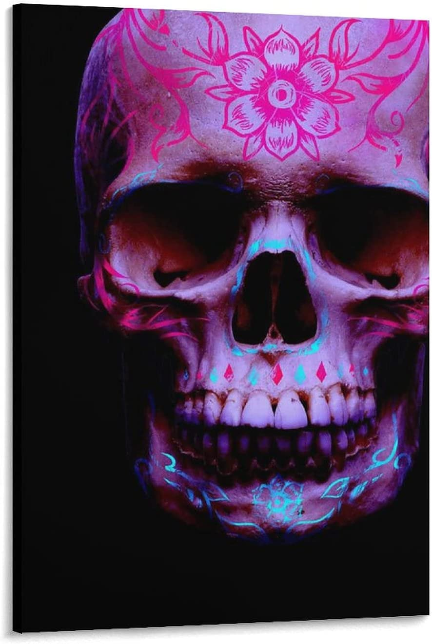 yuzong Skull Living Room Decor Canvas Pi Wall Ranking Limited Special Price TOP18 and Poster Art