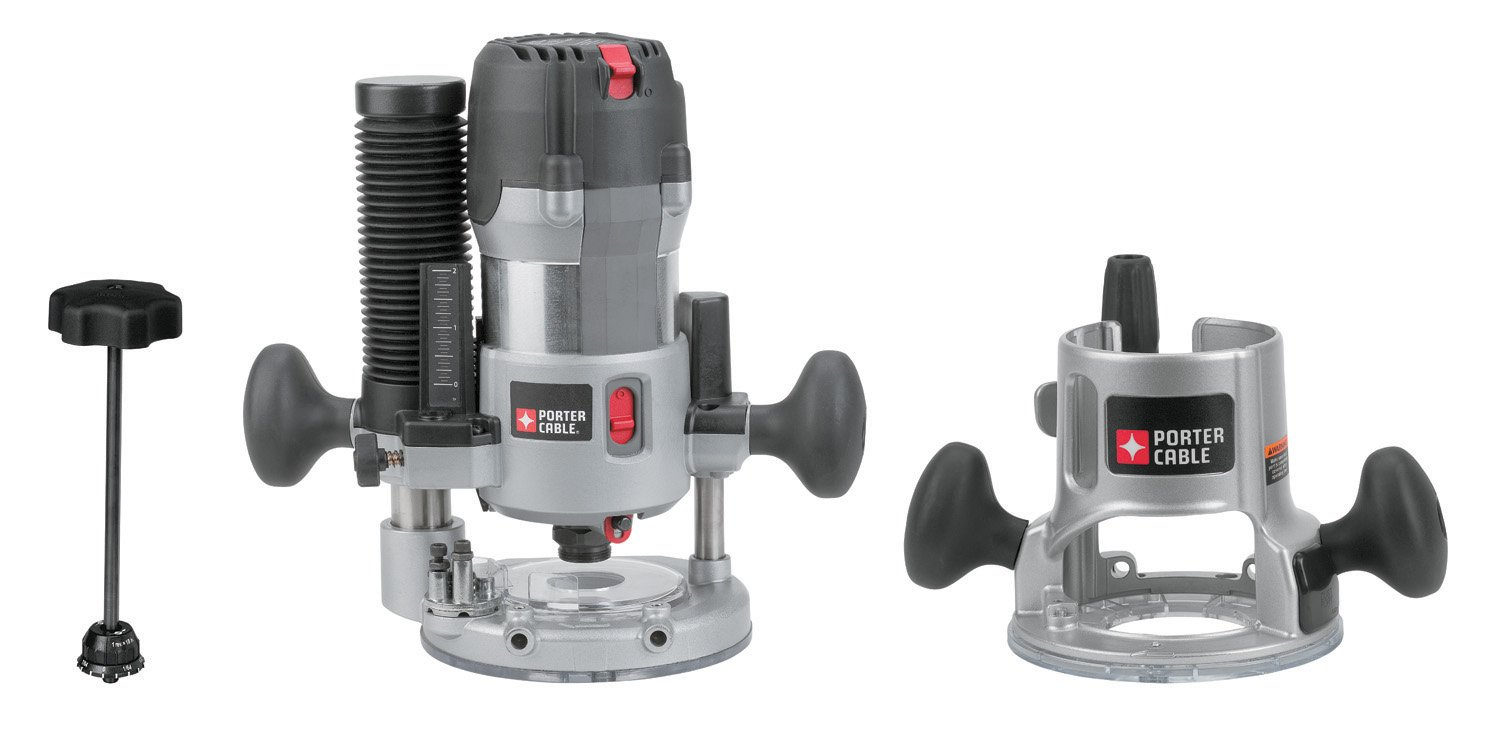 PORTER-CABLE 895PK Fixed/Plunge Base router Kit