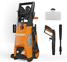 bigzzia Pressure Washer,Power washer 2000W 150Bar Electric High Pressure with 5M Hose,3 in 1 Nozzle for the Cleaning of Ho...