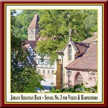 Bach: Violin Sonata No. 3 in E Major, BWV 1016