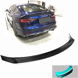 fits Audi A5 S5 RS5 4D 2D 2017-2019 Real Carbon Fiber Front Head Lamps Eyebrows Cover Trim JC SPORTLINE A5 B9 CF Front Head Light Eyelid