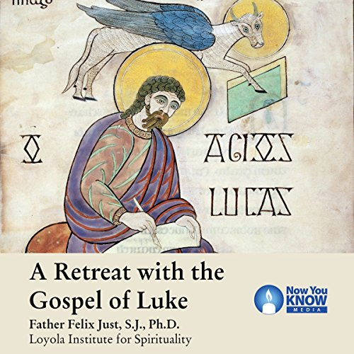 A Retreat with the Gospel of Luke audiobook cover art