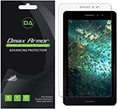 Dmax Armor [3-Pack] for AT&T Trek 2 HD Screen Protector, Anti-Bubble High Definition Clear Shield