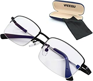 WEEGU ブルーライトカット メガネ ブルーライト メガネ ファッション伊達眼鏡 スクエアタイプ