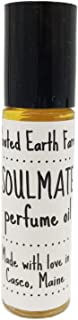 Soulmate Perfume Oil Roll On Patchouli Lemon Ginger Grapefruit for Date Night