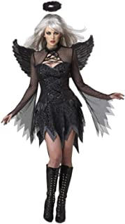 Halloween Costumes for Women, Fallen Angels Sexy Dresses for Women, Dresses + Halo + Wings Cos Sexy Halloween Costumes for...