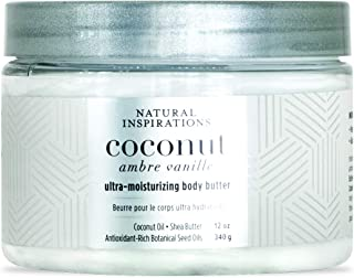 Natural Inspirations Coconut Ambre Vanille Body Butter