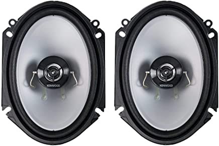 $36 » Kenwood KFC‑C6866S 6X8 2‑Way 250 Watt Car Stereo Speakers - Pair