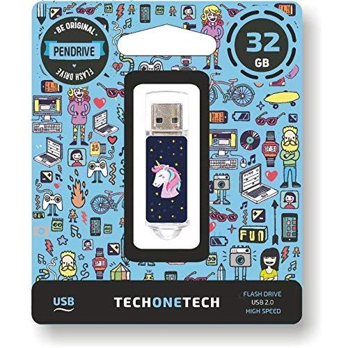 TECH ONE TECH Unicornio Dream PENDRIVE 32GB USB 2.0
