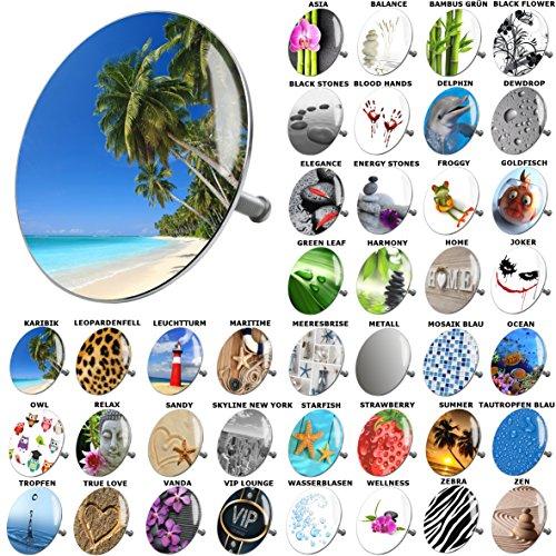 Badewannenstöpsel Karibik, viele schöne Badewannenstöpsel zur Auswahl, hochwertige Qualität ✶✶✶✶✶