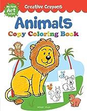 Colouring Book Of Animals Creative Crayons Series Crayon Copy Colour Books