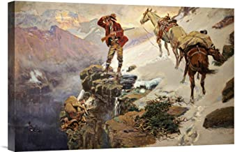 charles russell prints on canvas