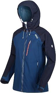Regatta Women's Birchdale Waterproof Brethable Isotex 10000 Strech Fabric Durable Water Repellent Inner Zipped Security Pocket Jacket