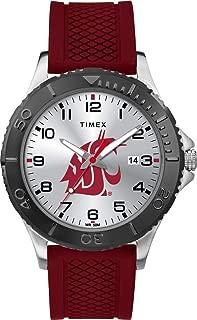 Men's Washington State University Gamer Watch Silicone Watch
